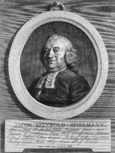 Портрет страсбургского профессора и аптекаря Якоба Шпильмана