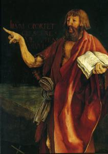 Изенгеймский алтарь, Иоанн Креститель