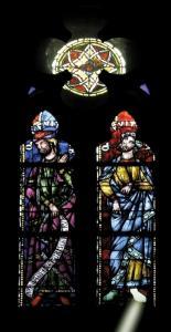 Кафедральный собор Страсбурга, витраж с изображением предков Христа