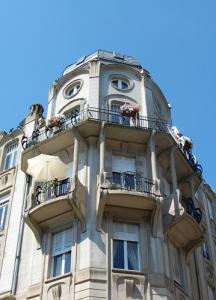 Здания в стиле модерн в Страсбурге, дом на ул. Генерала Фрера