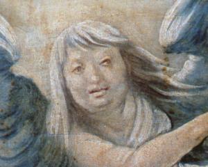 Изенгеймский алтарь, ангел
