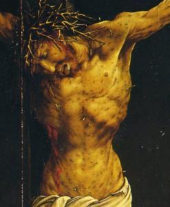 Изенгеймский алтарь, Иисус Христос