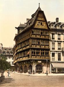Дом Каммерцеля и собор в Страсбурге