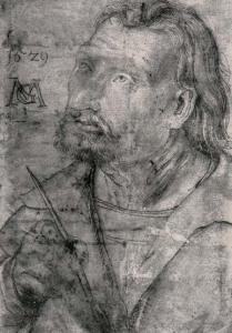 Грюневальд, «Иоганн Евангелист», библиотека университета Эрлангена — Нюрнберга
