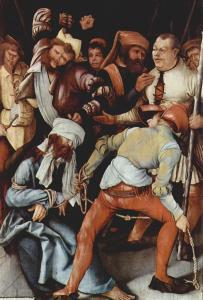 Грюневальд, «Поругание Христа», Старая пинакотека, Мюнхен
