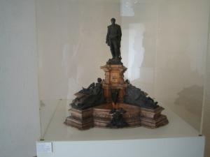 Памятник адмиралу Брюа, макет Бартольди, Кольмар, Франция