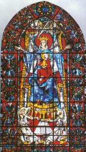 Кафедральный собор Страсбурга, витраж нефа