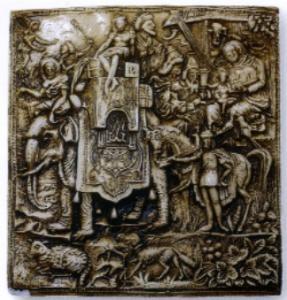 Сувениры Эльзаса, старинный штамп для печенья