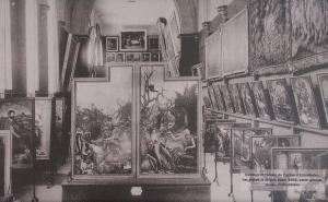 Вид бывшей монастырской часовни, музей Унтерлинден, Кольмар, открытка до 1914 года