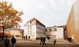 Проект расширения музея Унтерлинден, Кольмар, Франция