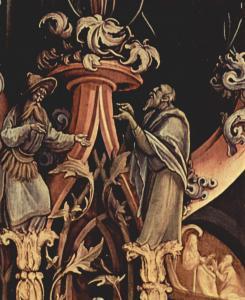Изенгеймский алтарь, фрагмент второй развёртки