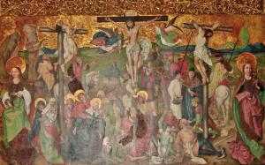 Алтарь из монастыря Св. Екатерины в Кольмаре, Бюль, Франция