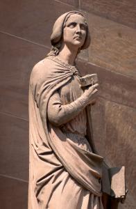Кафедральный собор Страсбурга, портал южного фасада, Сабина