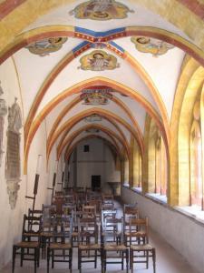 Церковь Св. Петра Молодого в Страсбурге, клуатр