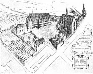 Комтурство ордена Св. Иоанна, Кольмар, Франция