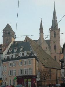 Церковь Св. Петра Старого в Страсбурге, общий вид