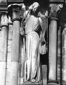 Кафедральный собор Страсбурга, портал южного фасада, Синагога
