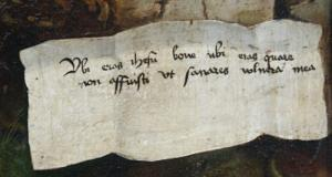 Изенгеймский алтарь, деталь, Кольмар, Франция