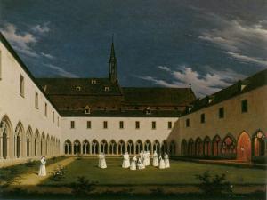 Монастырь Унтерлинден, Кольмар, Франция