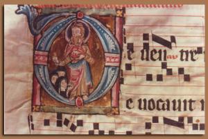 Сборник песнопений монастыря Унтерлинден, Кольмар, Франция