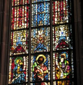 Кафедральный собор Страсбурга, витражи капеллы Св. Екатерины