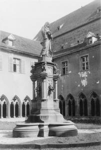 Памятник Мартину Шонгауэру, Кольмар, Франция