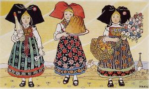Дары Эльзаса, рисунок Анси