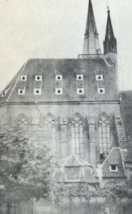 Церковь Св. Петра Старого в Страсбурге, старинная гравюра