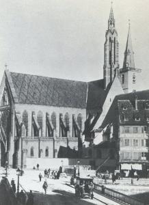 Церковь Св. Петра Старого в Страсбурге, новая католическая часть в XIX веке