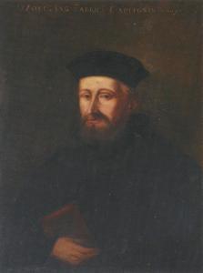Портрет Вольфганга Капитона, страсбургского реформатора и первого пастора Молодого Петра