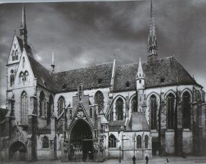 Церковь Св. Петра Молодого в Страсбурге после реставрации 1896-1902 гг.