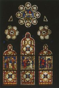 Церковь Св. Петра Молодого в Страсбурге, интерьер, витражи