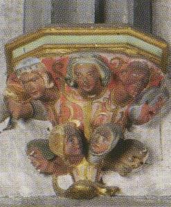 Церковь Св. Петра Молодого в Страсбурге, интерьер, капелла Цорнов