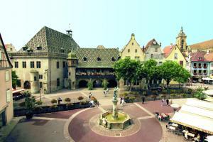 Площадь Старой таможни, Кольмар, Франция