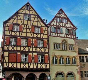 Дом Адольфа и дом Гинтцбургера, Кольмар, Франция