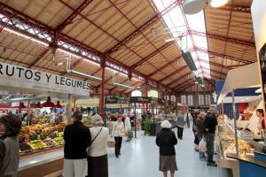 Крытый рынок, Кольмар, Франция