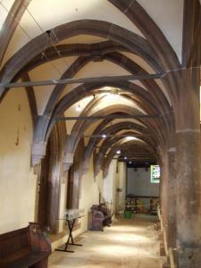 Церковь Св. Петра Старого в Страсбурге, интерьер протестантской части
