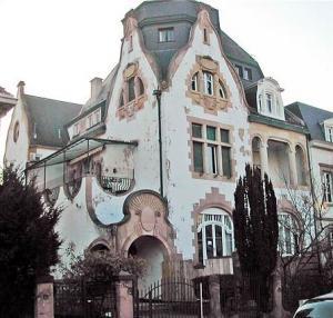 Здания в стиле модерн в Страсбурге, вилла Файста