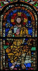 Кафедральный собор Страсбурга, витраж трансепта