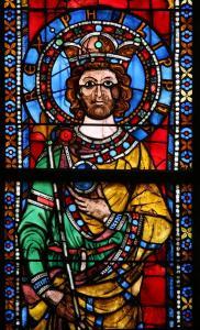 Кафедральный собор Страсбурга, витраж, император Филипп