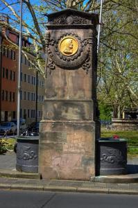 Фонтан Пиркгеймера-Дюрера в Нюрнберге, Германия