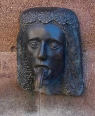 Фонтан «Hiserlein» в Нюрнберге, Германия