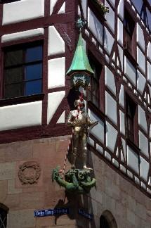 Дом Пилата в Нюрнберге, Германия