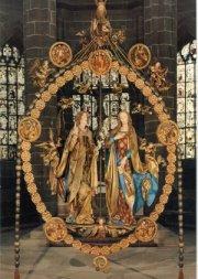 Сцена Благовещения, церковь Св. Лаврентия, Нюрнберг