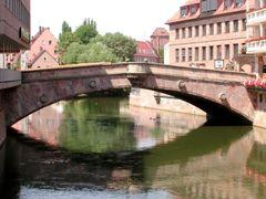 Мост мясников в Нюрнберге, Германия