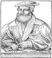 Портрет Ганса Сакса (источник: de.wikipedia.org)