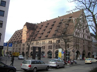 Мытный двор в Нюрнберге, Германия