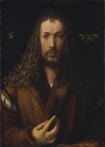 Автопортрет Дюрера (1500), Старая Пинакотека Мюнхена