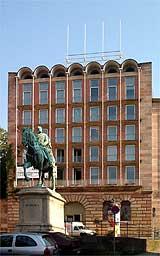 Внешний вид Pellerhaus сегодня, Нюрнберг, Германия