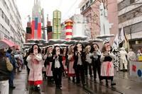 Шествие карнавальной клики, Базель, Швейцария